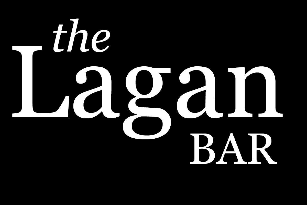 The Lagan Bar logo, Belfast Airport