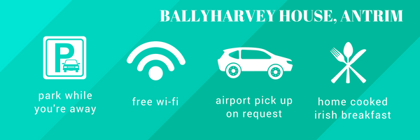 Facilities at Ballyharvey B&B