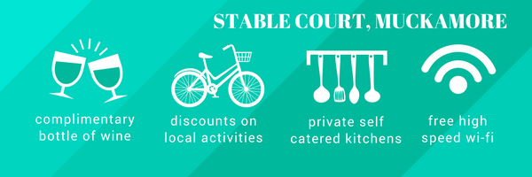 Reasons why you should book an apartment with Stable Court: facilties and selling points