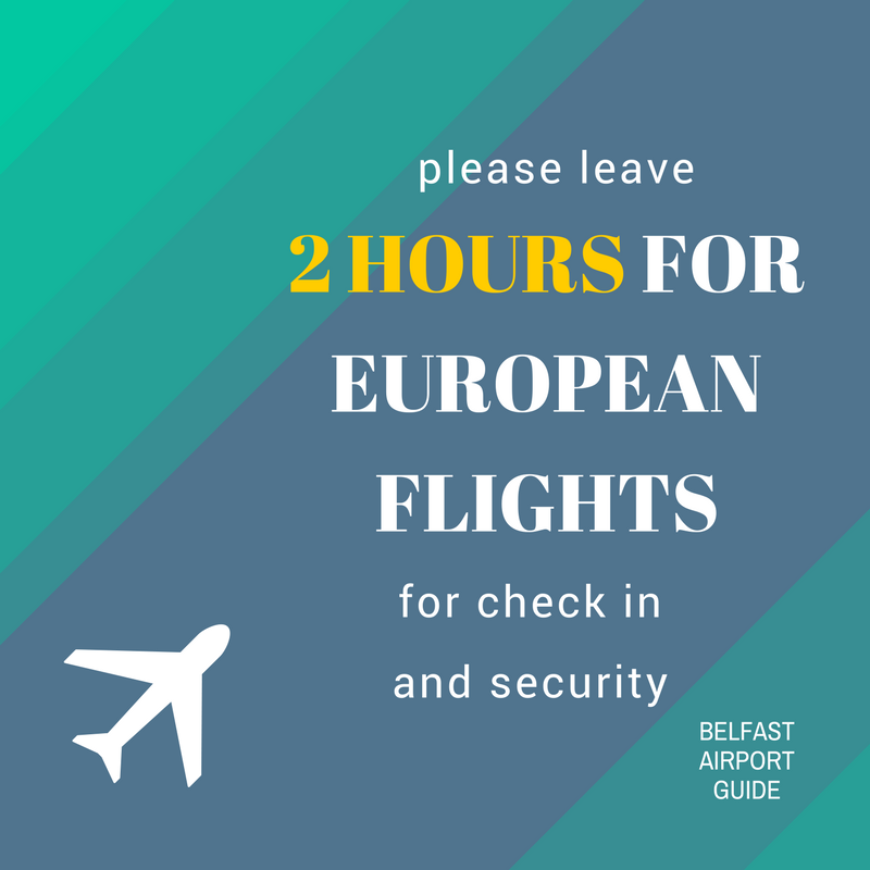 europe flights at belfast airport guide_ please leave 2 hours